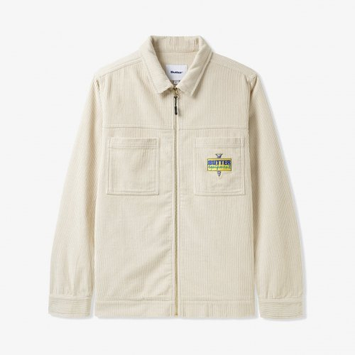 BUTTER GOODS-High Wale Cord Worker Overshirt(BONE)<img class='new_mark_img2' src='https://img.shop-pro.jp/img/new/icons5.gif' style='border:none;display:inline;margin:0px;padding:0px;width:auto;' />