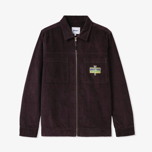 BUTTER GOODS-High Wale Cord Worker Overshirt(Dusty Plum)<img class='new_mark_img2' src='https://img.shop-pro.jp/img/new/icons5.gif' style='border:none;display:inline;margin:0px;padding:0px;width:auto;' />