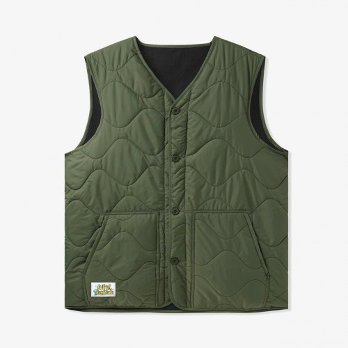 BUTTER GOODS-Gore Reversible Vest(Army)<img class='new_mark_img2' src='https://img.shop-pro.jp/img/new/icons5.gif' style='border:none;display:inline;margin:0px;padding:0px;width:auto;' />