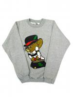 PAULIES - CREW NECK SWEAT (GRAY)<img class='new_mark_img2' src='https://img.shop-pro.jp/img/new/icons24.gif' style='border:none;display:inline;margin:0px;padding:0px;width:auto;' />