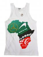B WOOD -AFRICAN LOGO TANK TOP(WHITE)<img class='new_mark_img2' src='//img.shop-pro.jp/img/new/icons24.gif' style='border:none;display:inline;margin:0px;padding:0px;width:auto;' />