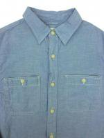 DENIM&SUPPLY -L/S SHIRT(S.BLUE)