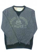 DENIM&SUPPLY -CREW NECK SWEAT(GRAY)