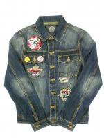 BORN FLY- DENIM JACKET<img class='new_mark_img2' src='//img.shop-pro.jp/img/new/icons5.gif' style='border:none;display:inline;margin:0px;padding:0px;width:auto;' />