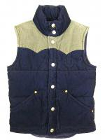 TRUE RELIGION -DOWN VEST(NAVY)<img class='new_mark_img2' src='https://img.shop-pro.jp/img/new/icons5.gif' style='border:none;display:inline;margin:0px;padding:0px;width:auto;' />