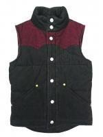TRUE RELIGION -DOWN VEST(BURGUNDY)<img class='new_mark_img2' src='//img.shop-pro.jp/img/new/icons5.gif' style='border:none;display:inline;margin:0px;padding:0px;width:auto;' />