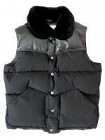 PEN FIELD-DOWN VEST(BLACK)<img class='new_mark_img2' src='https://img.shop-pro.jp/img/new/icons5.gif' style='border:none;display:inline;margin:0px;padding:0px;width:auto;' />