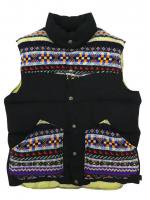 【40% OFF】PEN FIELD×JAMIESON'S-DOWN VEST(BLACK)<img class='new_mark_img2' src='//img.shop-pro.jp/img/new/icons24.gif' style='border:none;display:inline;margin:0px;padding:0px;width:auto;' />