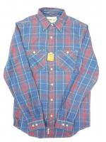 DENIM&SUPPLY -L/S SHIRT(BLUE,RED)<img class='new_mark_img2' src='https://img.shop-pro.jp/img/new/icons5.gif' style='border:none;display:inline;margin:0px;padding:0px;width:auto;' />