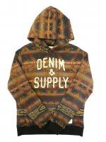 DENIM&SUPPLY -HOODIE(NATIVE BROWN)