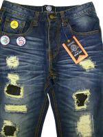 BORN FLY- DENIM PANTS  PATCHED(IND)<30% OFF><img class='new_mark_img2' src='//img.shop-pro.jp/img/new/icons24.gif' style='border:none;display:inline;margin:0px;padding:0px;width:auto;' />