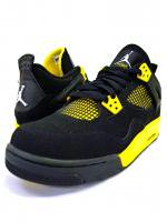 AIR JORDAN4 GS -THUNDER(BLACK×YELLOW)<img class='new_mark_img2' src='https://img.shop-pro.jp/img/new/icons5.gif' style='border:none;display:inline;margin:0px;padding:0px;width:auto;' />