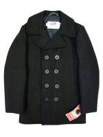SCHOTT NYC-PEA COAT(BLACK)<img class='new_mark_img2' src='https://img.shop-pro.jp/img/new/icons23.gif' style='border:none;display:inline;margin:0px;padding:0px;width:auto;' />