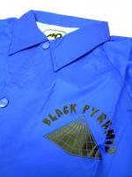 BLACK PYRAMID -COACH JACKET(BLUE)<img class='new_mark_img2' src='//img.shop-pro.jp/img/new/icons5.gif' style='border:none;display:inline;margin:0px;padding:0px;width:auto;' />