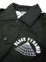 BLACK PYRAMID -COACH JACKET(BLACK)<img class='new_mark_img2' src='//img.shop-pro.jp/img/new/icons5.gif' style='border:none;display:inline;margin:0px;padding:0px;width:auto;' />