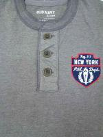 OLD NAVY -HENLEY NECK SHIRT