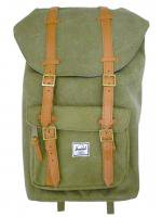 Herschel&Supply -LITTLE AMERICA CANVAS(WASHED ARMY)<img class='new_mark_img2' src='//img.shop-pro.jp/img/new/icons5.gif' style='border:none;display:inline;margin:0px;padding:0px;width:auto;' />