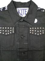 KITE CLUB -DENIM VEST(BLACK)<img class='new_mark_img2' src='//img.shop-pro.jp/img/new/icons5.gif' style='border:none;display:inline;margin:0px;padding:0px;width:auto;' />