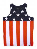 HUDSON NYC -BANNER FLAG TANK TOP(NAVY×WHITE×RED)<img class='new_mark_img2' src='//img.shop-pro.jp/img/new/icons24.gif' style='border:none;display:inline;margin:0px;padding:0px;width:auto;' />