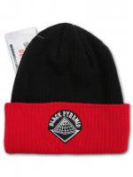 BLACK PYRAMID -BEENIE CAP(BLACK×RED)<img class='new_mark_img2' src='//img.shop-pro.jp/img/new/icons5.gif' style='border:none;display:inline;margin:0px;padding:0px;width:auto;' />