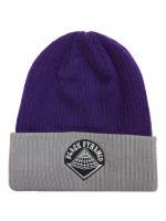 BLACK PYRAMID -BEENIE CAP(PURPLE×GRAY)<img class='new_mark_img2' src='//img.shop-pro.jp/img/new/icons5.gif' style='border:none;display:inline;margin:0px;padding:0px;width:auto;' />