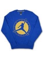 【30% OFF】JORDAN  -CREW KNECK SWEAT(BLUE)<img class='new_mark_img2' src='//img.shop-pro.jp/img/new/icons20.gif' style='border:none;display:inline;margin:0px;padding:0px;width:auto;' />