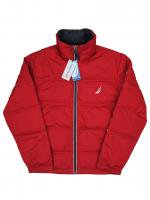 【30% OFF】NAUTICA -DOWN JACKET(RED)<img class='new_mark_img2' src='https://img.shop-pro.jp/img/new/icons16.gif' style='border:none;display:inline;margin:0px;padding:0px;width:auto;' />