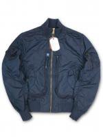 ALPHA INDUSTRIES -FLIGHT JACKT(NAVY)<img class='new_mark_img2' src='https://img.shop-pro.jp/img/new/icons5.gif' style='border:none;display:inline;margin:0px;padding:0px;width:auto;' />