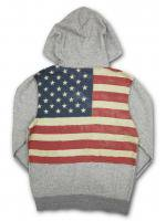 DENIM&SUPPLY -Z/U HOODIE(GRAY)<img class='new_mark_img2' src='//img.shop-pro.jp/img/new/icons20.gif' style='border:none;display:inline;margin:0px;padding:0px;width:auto;' />