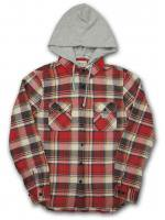 DENIM&SUPPLY -HOODED L/S SHIRT(RED)<img class='new_mark_img2' src='https://img.shop-pro.jp/img/new/icons20.gif' style='border:none;display:inline;margin:0px;padding:0px;width:auto;' />