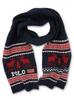 【25% OFF】POLO RALPH LAUREN -MUFFLER(NAVY×RED)<img class='new_mark_img2' src='https://img.shop-pro.jp/img/new/icons16.gif' style='border:none;display:inline;margin:0px;padding:0px;width:auto;' />