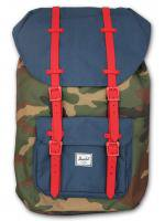 Herschel&Supply -LITTLE AMERICA (CAMO×NAVY×RED)<img class='new_mark_img2' src='//img.shop-pro.jp/img/new/icons5.gif' style='border:none;display:inline;margin:0px;padding:0px;width:auto;' />