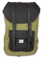 Herschel&Supply -LITTLE AMERICA (OLIVE×BLACK)<img class='new_mark_img2' src='//img.shop-pro.jp/img/new/icons5.gif' style='border:none;display:inline;margin:0px;padding:0px;width:auto;' />