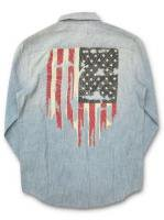 DENIM&SUPPLY - L/ S FLAG SHIRT(LIGHT BLUE)<img class='new_mark_img2' src='//img.shop-pro.jp/img/new/icons5.gif' style='border:none;display:inline;margin:0px;padding:0px;width:auto;' />