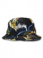 STUSSY-PARADISE BUCKET HAT (BLACK)<img class='new_mark_img2' src='//img.shop-pro.jp/img/new/icons5.gif' style='border:none;display:inline;margin:0px;padding:0px;width:auto;' />