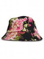 REASON -JUMBO FLORAL BUCKET HAT(BLACK)<img class='new_mark_img2' src='//img.shop-pro.jp/img/new/icons5.gif' style='border:none;display:inline;margin:0px;padding:0px;width:auto;' />