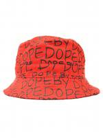 DOPE COUTURE -DOPE BY DOPE BUCKET HAT(RED)<img class='new_mark_img2' src='//img.shop-pro.jp/img/new/icons5.gif' style='border:none;display:inline;margin:0px;padding:0px;width:auto;' />