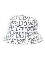 DOPE COUTURE -DOPE BY DOPE BUCKET HAT(WHITE)<img class='new_mark_img2' src='//img.shop-pro.jp/img/new/icons5.gif' style='border:none;display:inline;margin:0px;padding:0px;width:auto;' />