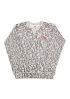 【30%OFF】alife -STICKER PATTERN CREW NECK(GRAY)<img class='new_mark_img2' src='https://img.shop-pro.jp/img/new/icons20.gif' style='border:none;display:inline;margin:0px;padding:0px;width:auto;' />