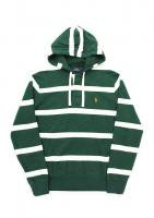 POLO RALPH LAUREN -STRIPED HOODIE(GREEN)<img class='new_mark_img2' src='//img.shop-pro.jp/img/new/icons5.gif' style='border:none;display:inline;margin:0px;padding:0px;width:auto;' />
