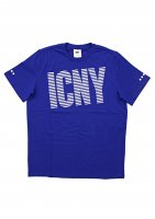 ICNY -WAVE LOGO S/S T-SHIRT(BLUE)<img class='new_mark_img2' src='https://img.shop-pro.jp/img/new/icons5.gif' style='border:none;display:inline;margin:0px;padding:0px;width:auto;' />