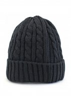 NEW HATTAN -CABLE BEANIE CAP(BLACK)<img class='new_mark_img2' src='//img.shop-pro.jp/img/new/icons5.gif' style='border:none;display:inline;margin:0px;padding:0px;width:auto;' />
