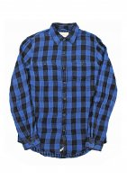 DENIM&SUPPLY - COTTON SHIRT(BLUE)<img class='new_mark_img2' src='https://img.shop-pro.jp/img/new/icons5.gif' style='border:none;display:inline;margin:0px;padding:0px;width:auto;' />