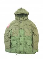 DENIM&SUPPLY - COTTON DOWN JACKET(OLIVE)<img class='new_mark_img2' src='//img.shop-pro.jp/img/new/icons20.gif' style='border:none;display:inline;margin:0px;padding:0px;width:auto;' />