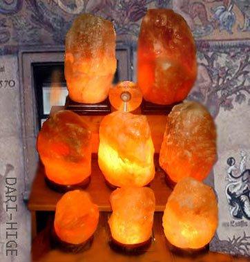ソルトランプ(岩塩ランプ) - モトフサ現代美術館 ダリヒゲ市場