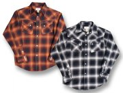cushman 25505 OMBRE CHECK WESTERN SHIRTS