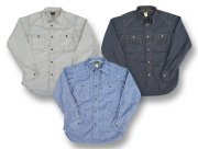 cushman 25500 CHAMBRAY WORK SHIRTS