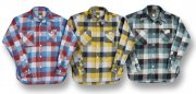 cushman 25503 FLANNEL CHECK WORK SHIRTS