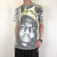 BROOKLYN MINT NOTORIUS B.I.G 転写プリントTシャツ