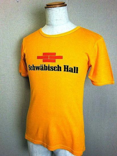 ヨーロッパ古着 Schwäbisch Hall ユーロプリントTシャツ